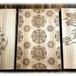 奈良県産木材を使用したオリジナル御朱印帳作り教室